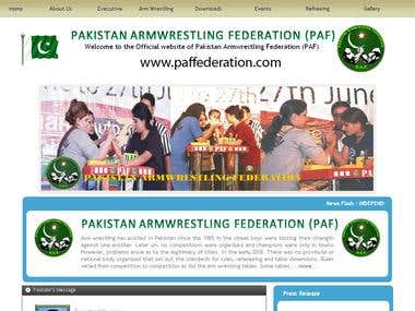 Pakistan Arm Wrestling Federation