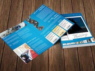 Half Folder Brochure