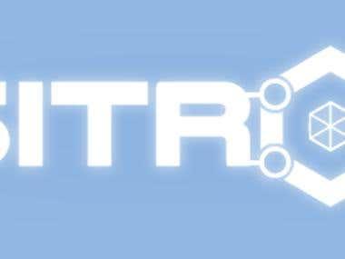 """Logo """"Positronic"""" [V.2.B]"""