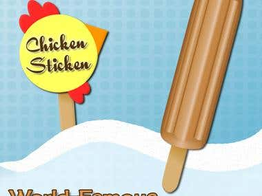 Chicken Sticken