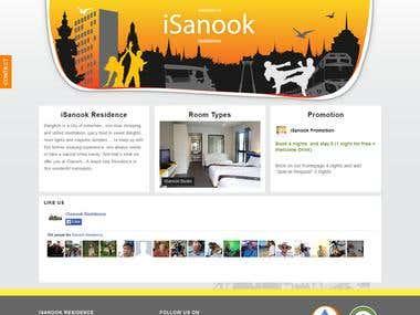 Create and design website