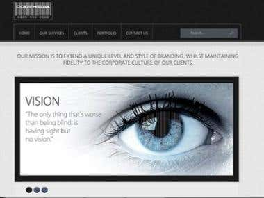 Codemedia Ltd website designed by me. www.codemedia-ltd.com