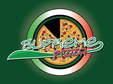 Supreme Pizza - Logo Concept