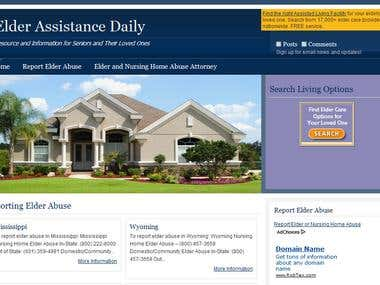 Elder Assistance Daily Website