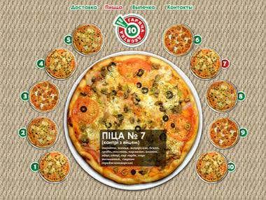Pizza Web-Site