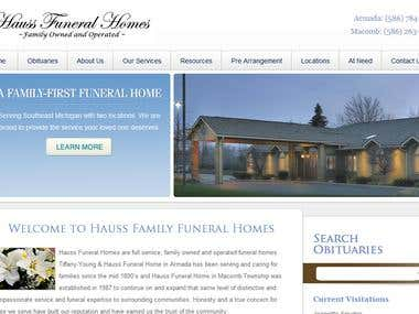 Hauss Family Funeral Homes