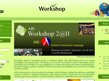 Website design : ABI Workshop | Online content management Sy
