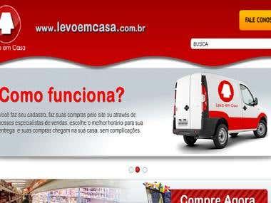 Updating website : http://www.levoemcasa.com.br/