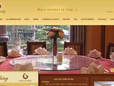 Hotel Website Booking