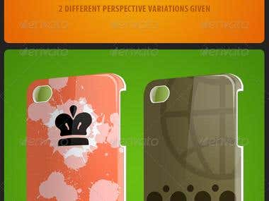 iPhone Case Cover Mockup