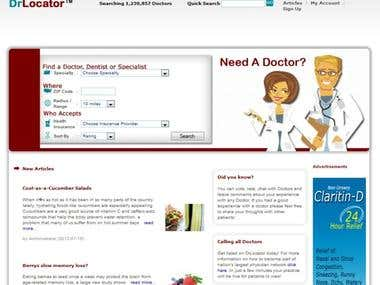 DrLocator - A Portal for Doctors