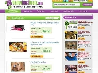 Valley Best Deals - Group Buying