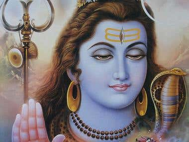 The Picture of Mahadev