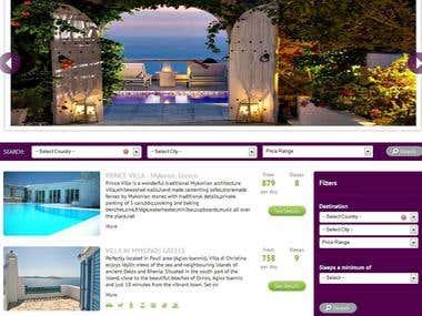 Online house rentals
