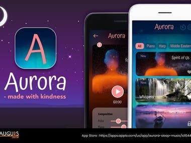 Aurora Sleep Music App