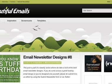 Beautiful Emails - Blog