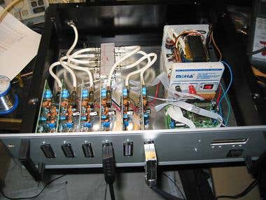 Custom-made video router