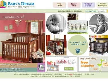 Baby Store Website