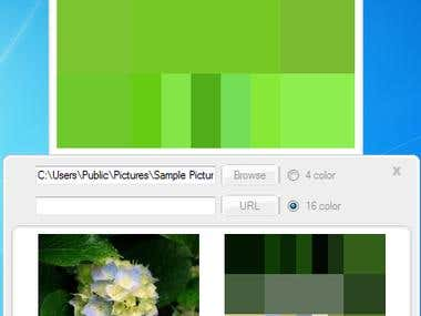 GenoPal Color Selection & Image Color Extraction
