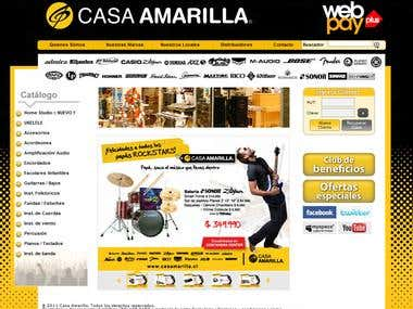 Casa Amarilla - PHP/MYSQL