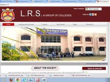 LRS Website Designing