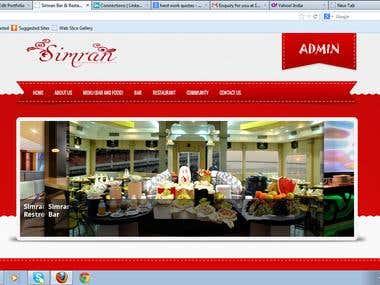 Simran Website