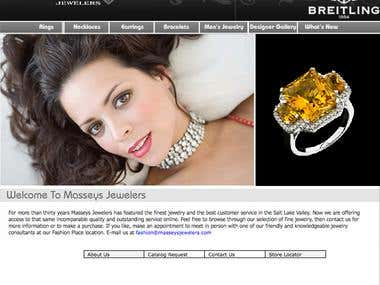 Masseys Jewelers Website