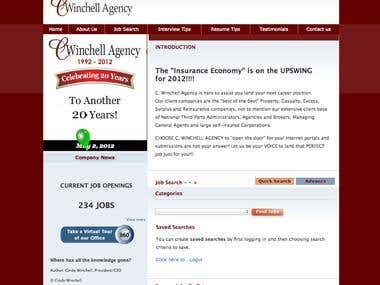 Cwinchell Agency Job Site