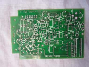 phone line pulse count circuit ( pcb side 1 only)