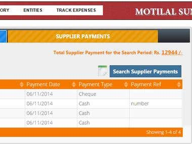 Billing,Inventory,Orders Tracking and Expense Mgmt System