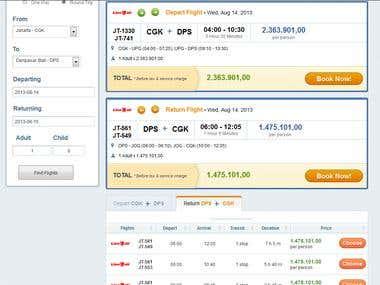 Flight Search Websits