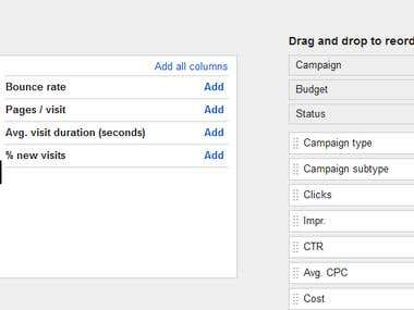 Analytics & Google Adwords Linking