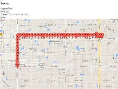 Google Map API/GEO