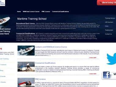 SEO FOR MARITIME TRAINING SCHOOL