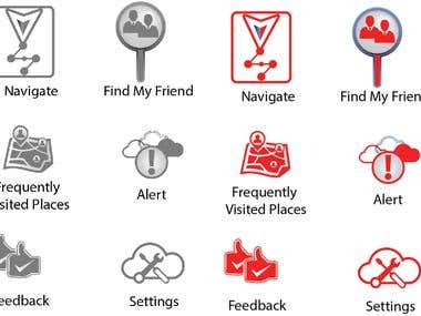 New icons Designs