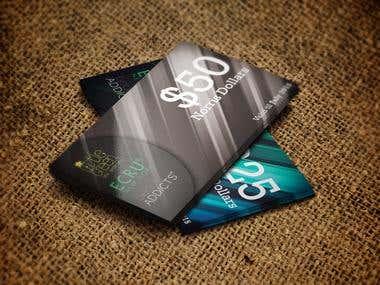 Business Card Voucher