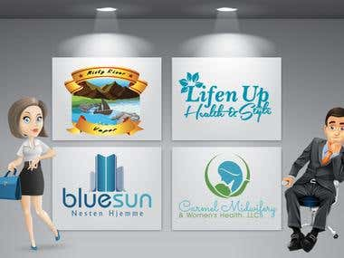 professional LOGO for your Business And Website