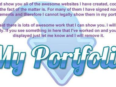 Web designing Work