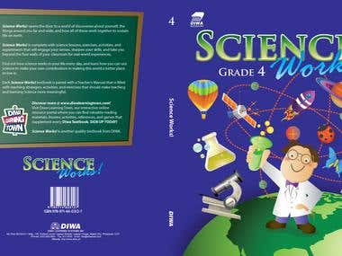 Science Works Grades 1-6 Book Cover Design