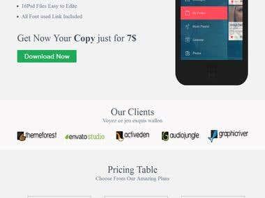 Web Design- PSD to HTML