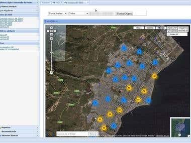 Análisis geográfico con google maps