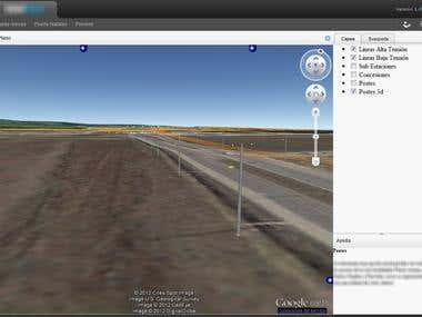 Sistema de información geográfico 3d