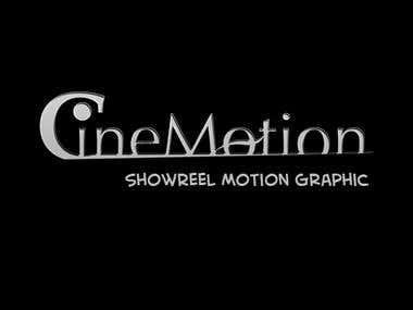 Showreel Motion Graphic