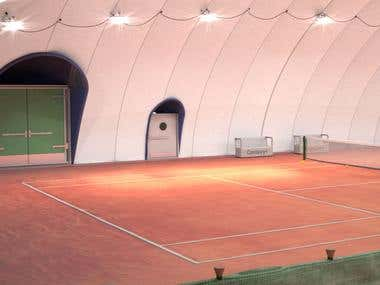 Tennis Court Indoor