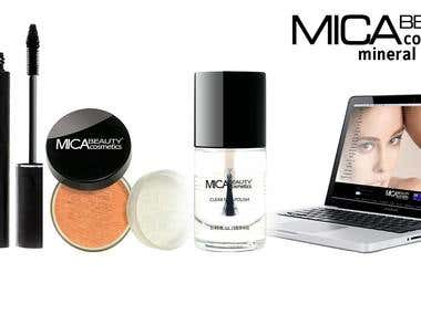 Client: Australia, Project: Mica Beauty Cosmetics