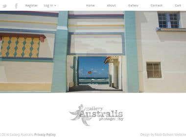 Custom e-commerce website