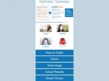 Website for Braces