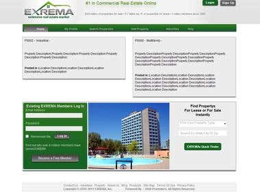exrema real estate project