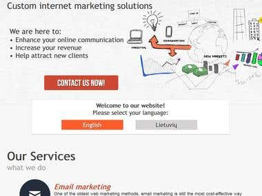 emarkas Internet Marketing responsive website