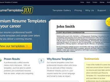 http://www.resumetemplates101.com
